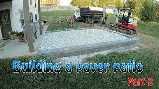 Building A Paver Patio Part 2 thumbnail