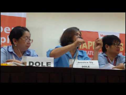 2018 STATUS OF LABOR AND EMPLOYMENT IN CEBU PART 2 (DOLE AND PMAP)