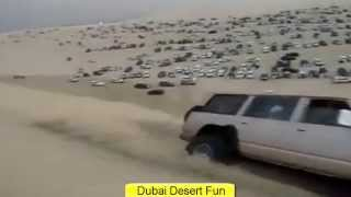 Dubai Desert Fun With Cars