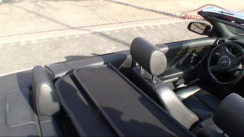 windschott audi a4 typ 8h 2009 abschlie bar www. Black Bedroom Furniture Sets. Home Design Ideas