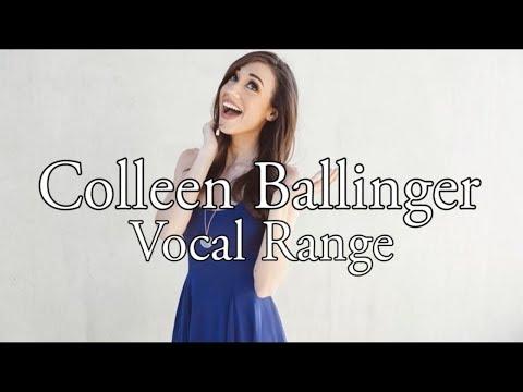 [HD] Colleen Ballinger Vocal Range (B2 - G#7)