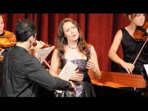 """Vita Vasilieva  """"Armida dispietata...Lascia ch'io pianga""""G.F. Händel (Rinaldo). Вита Васильева"""