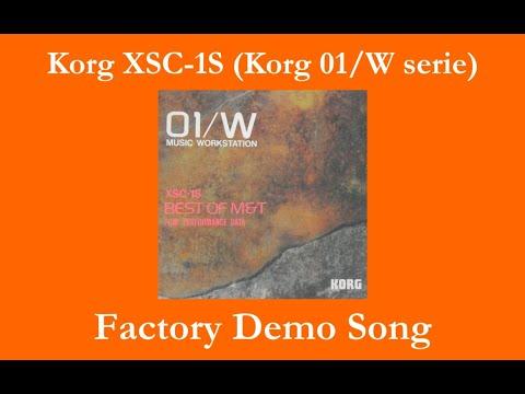 Korg XSC-1S Best of M&T - Démos internes - Factory Demo Songs