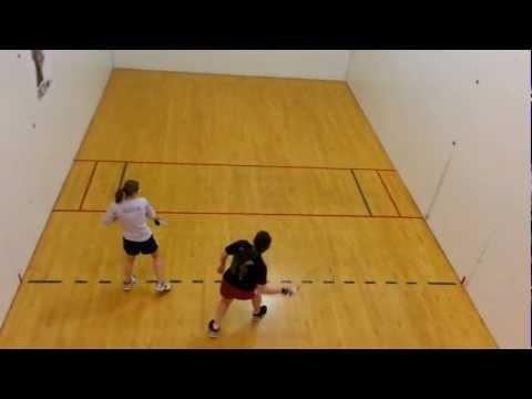 Laura Schott of Notre Dame High School Wins 2013 Mo. State Racquetball Championship