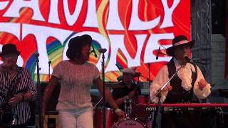 Family Stone Band:  Funk Music 30th San Jose, CA Jazz Summer Fest  8/9/2019