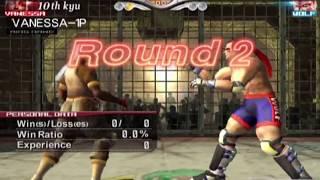 Virtua Fighter 4 Evolution (PlayStation 2) Arcade as Vanessa