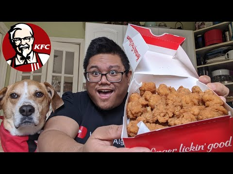 KFC Popcorn Chicken Food Review