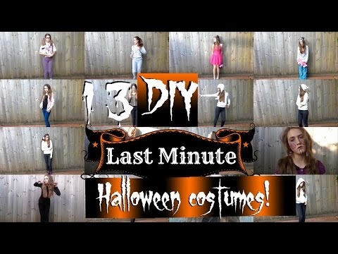 13 Diy last minute halloween costume ideas|Claudia Greiner