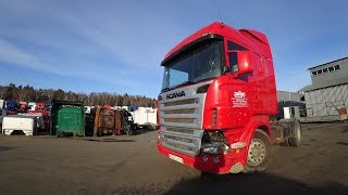[Разбор] Scania R420 4x2 2008 Скания - Разборка грузовиков и полуприцепов Razborgruz.ru