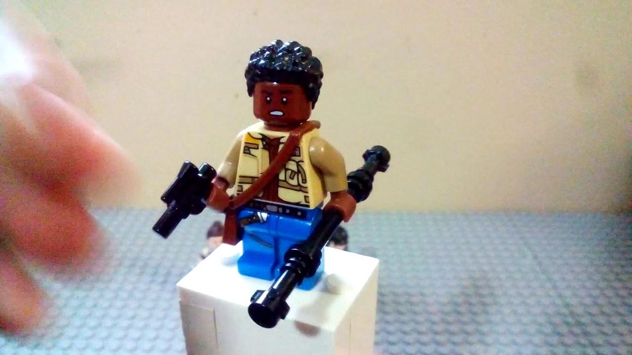 Star Wars Episode Ix The Rise Of Skywalker Custom Lego Minifigures Youtube