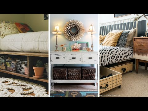 10 Ideas How To Optimize Under The Bed Storage Ideas