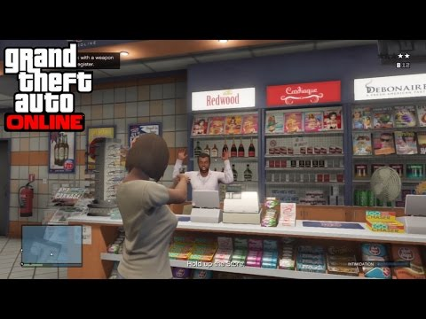 Hold Up - GTA: Online Solo Mission (Hard) (HD)