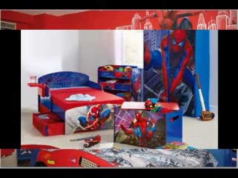 spiderman bedroom. Spiderman bedroom decorating ideas  YouTube