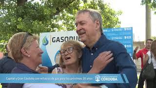 Capital y Gran Córdoba con refuerzo de gas para los próximos 20 años