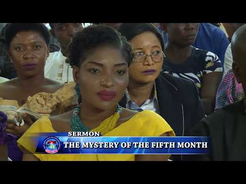 THE MYSTERY OF THE FIFTH MONTH|SERMON|PROPHET JEREMIAH OMOTO FUFEYIN