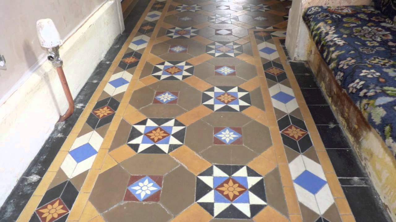 Victorian Minton Tile Restoration Coventry  YouTube