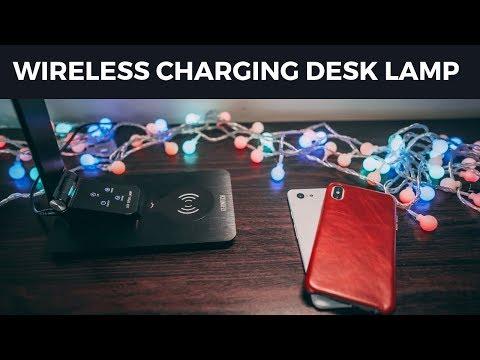 Wireless Charging Desk Lamp - Gerintech