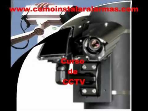Curso de CCTV, camaras de seguridad y vigilancia, curso cctv