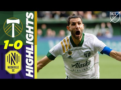 Portland Timbers 1-0 Nashville SC | Beautiful Valeri Volley! | MLS HIGHLIGHTS
