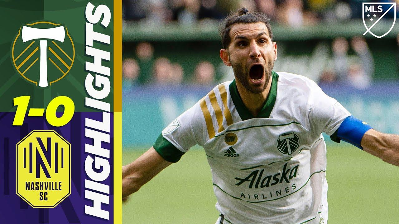 Portland Timbers 1-0 Nashville SC | Beautiful Valeri Volley! | MLS HIGHLIGHTS