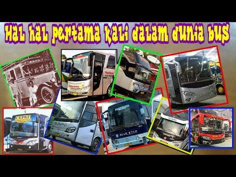 Wow,,Inilah hal-hal yang serba pertama kali dalam dunia Bus Indonesia
