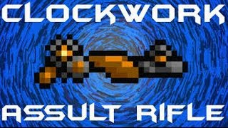 terraria clockwork assault rifle(overview/how to obtain)