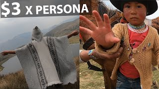 Acampa en el PÁRAMO por SOLO $3 en Ecuador!