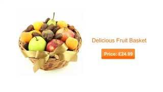 Birthday Fruit Gift Hampers - Birthday Fruit Baskets Delivery UK