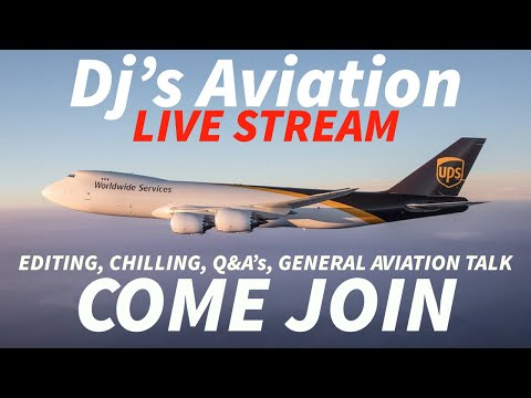 Let's have a talk | LIVE STREAM | Dj's Aviation