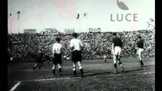 Italia-Germania 3 a 2. La grande partita di calcio allo stadio San Siro