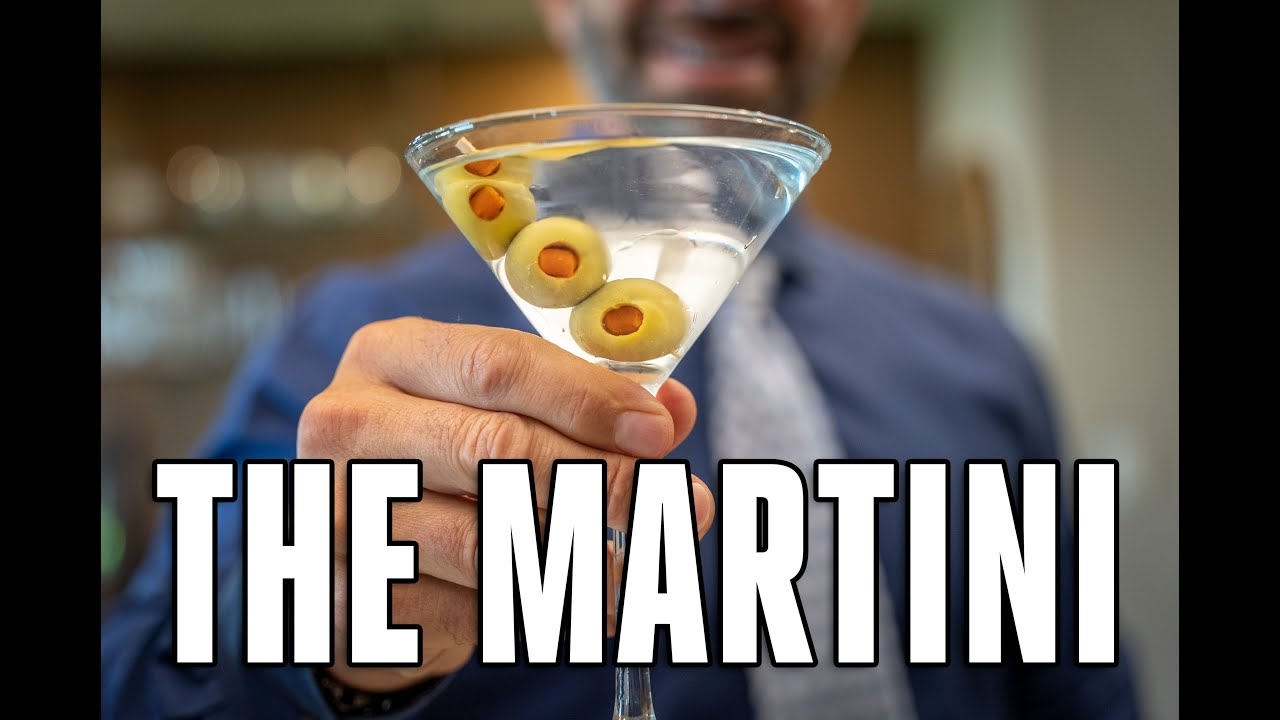 How to Properly Make Martinis 🍸