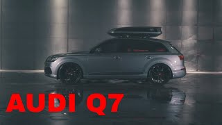 Audi Q7 with 24 inch Vossen Wheels HF2 Carporn Germany KCustom
