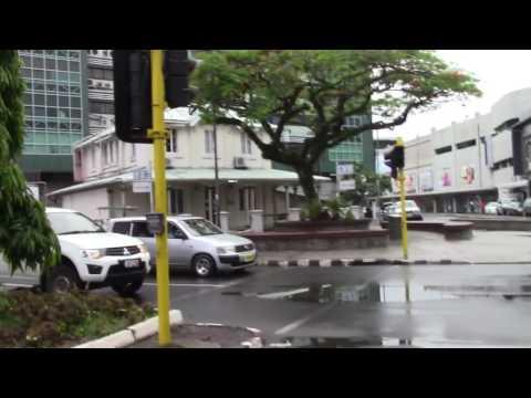 Suva, Fiji on a Saturday morning