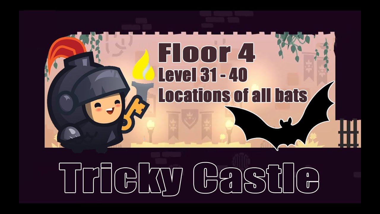 Tricky Castle Level 31 32 33 34 35 36 37 38 39 40 Floor 4 Puzzle Game Free Android Youtube