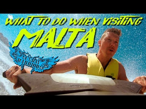 What to do when visiting Malta| Jet ski