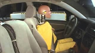 2005 Toyota Corolla side IIHS crash test