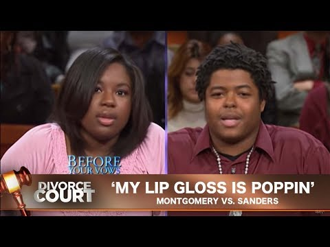 Vintage Divorce Court: My Lip Gloss Is Poppin'
