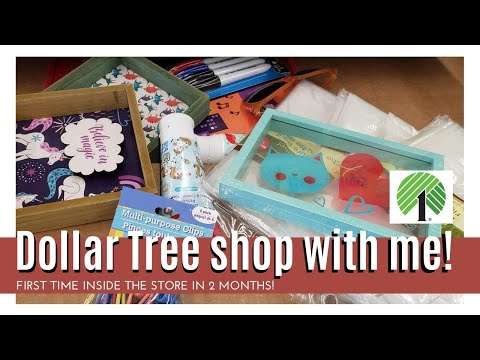 Dollar Tree SHOP WITH ME    *new Finds!*