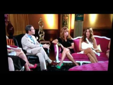 Kelly Bensimon acting crazy at the reunion
