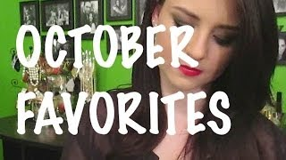October Favorites 2013 Thumbnail