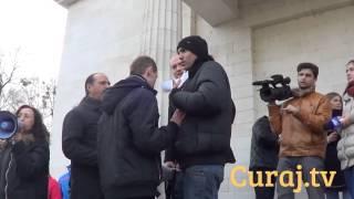 Au luat măsuri ca să nu incite la violență la #Flash mob
