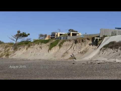Old Bar Beach Sand Erosion
