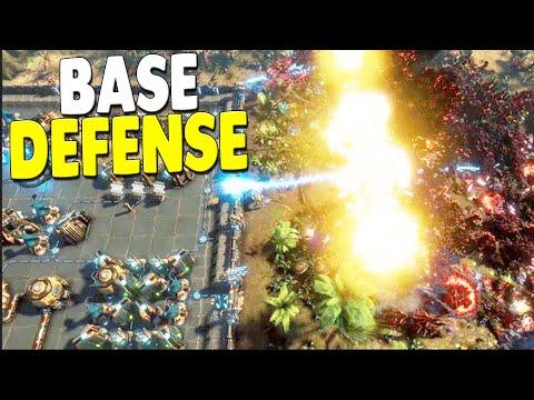 FULL-SCALE INVASION Base Defense Building & Mining Survival | The Riftbreaker Gameplay