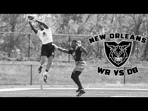 Nike Football's The Opening New Orleans 2017   WR vs DB 1 on 1's
