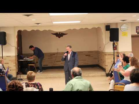 Ronnie Dove sings 'Feel Right' Maryland May 2016