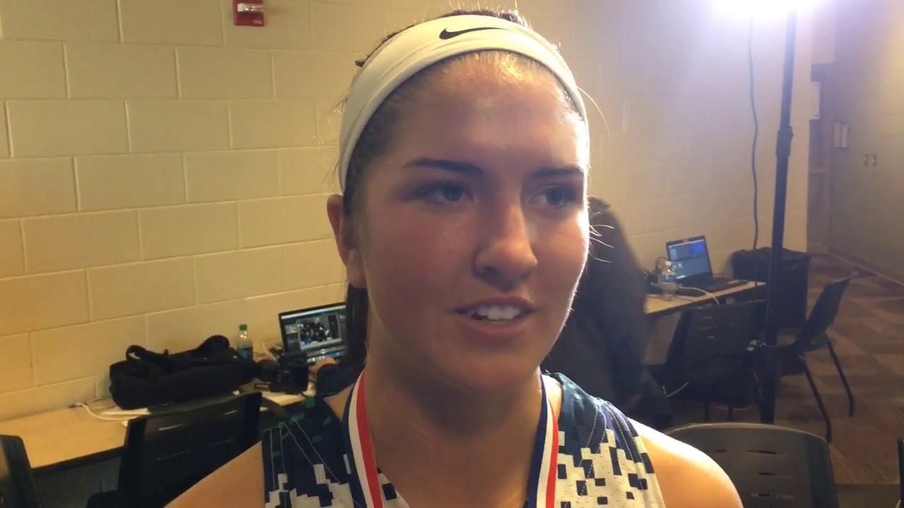 Madison Camp, Jessi Bicknell make senior-season finale a championship one