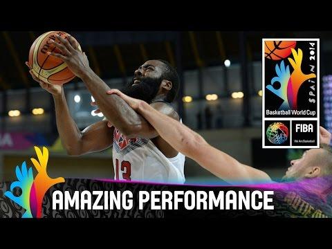 James Harden - Amazing Performance - 2014 FIBA Basketball World Cup