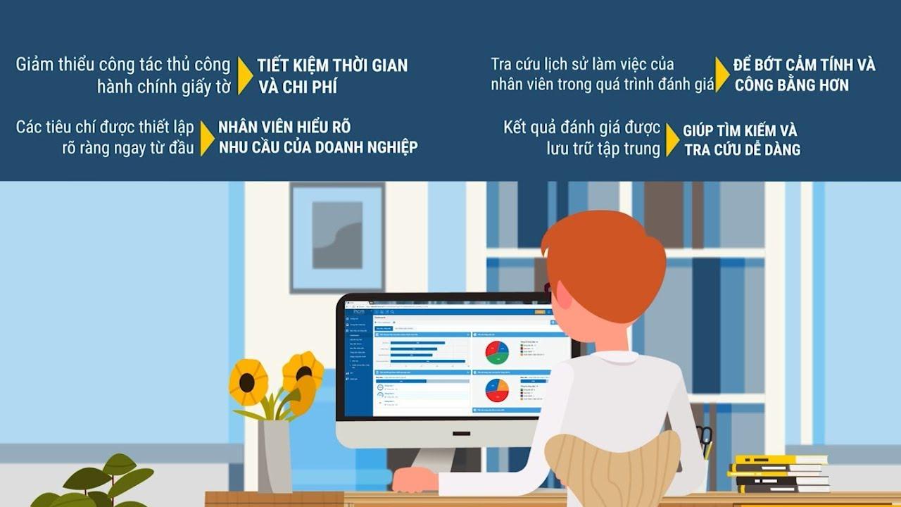 Video giới thiệu tổng quan quy trình đánh giá nhân viên trên phần mềm iHCM