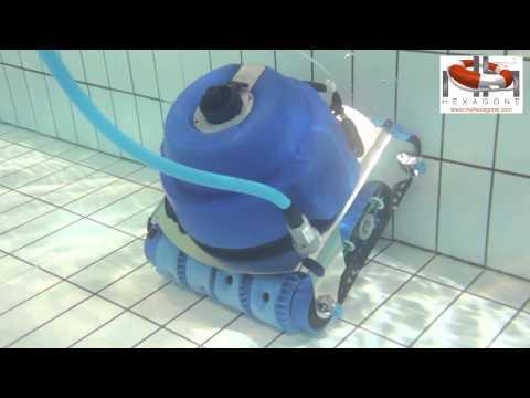 видео: Робот пылесос Hexagone Chrono
