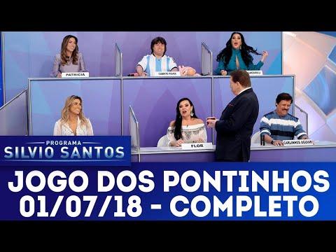 Jogo dos Pontinhos - Completo   Programa Silvio Santos (01/07/18)
